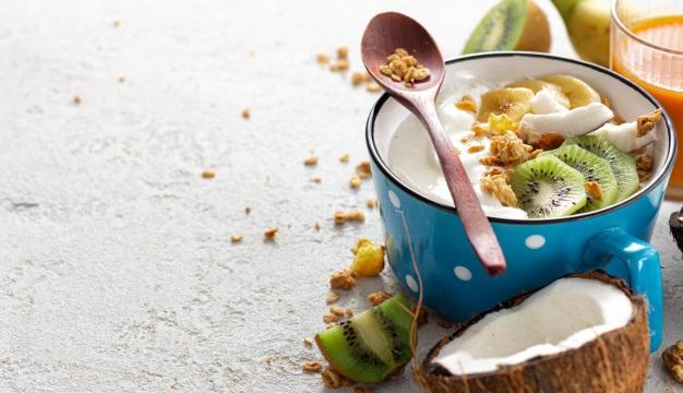 iart si nuca de cocos pentru probiotice