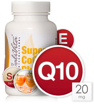 flacon CoQ10 Calivita si ingrediente