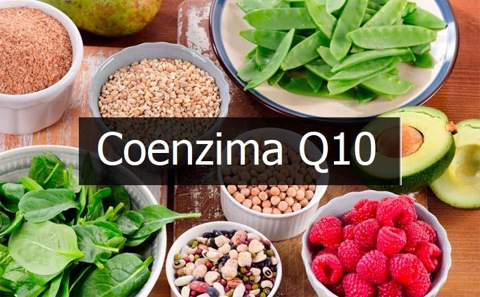 legume verzi si fructe cu coenzima q10