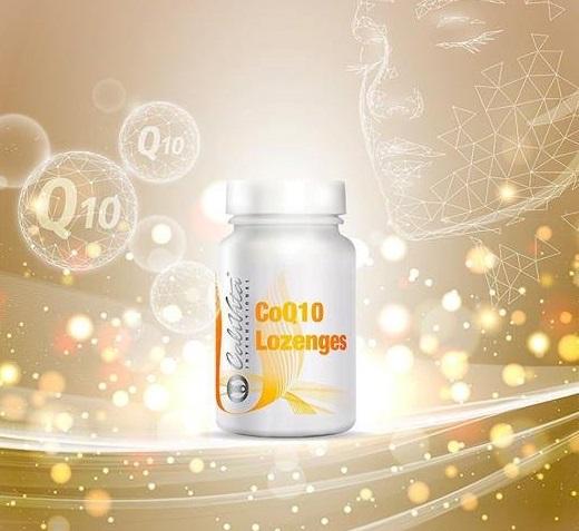 tablete coenzima q10 sublingual calivita