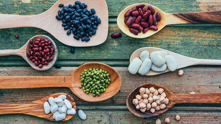 dierite tipuri de legume boabe bogate in zinc