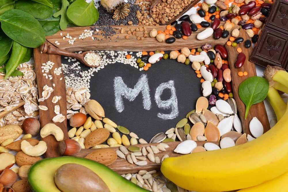 seminte, fructe, legume, alune, fasole cu continut ridicat de magneziu